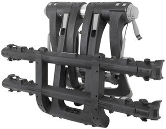 Thule Raceway bike rack folded up