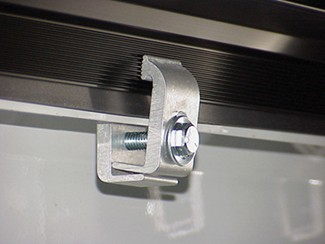 Tite Bite clamp for Access Toolbox tonneau cover