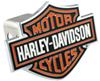 Harley Davidson Trailer Hitch Covers by Baron