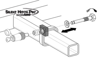 Silent Hitch Pin Diagram