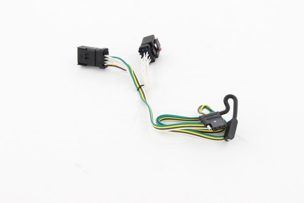 Custom fit vehicle wiring for jeep commander tow