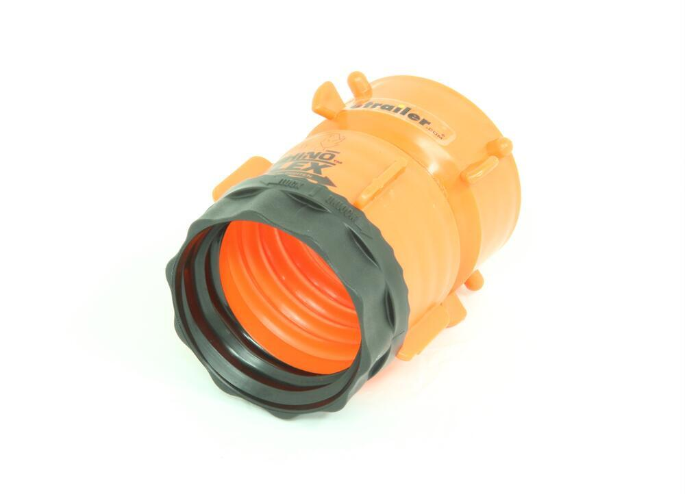 Rhinoflex rv sewer hose swivel lug fitting camco plumbing