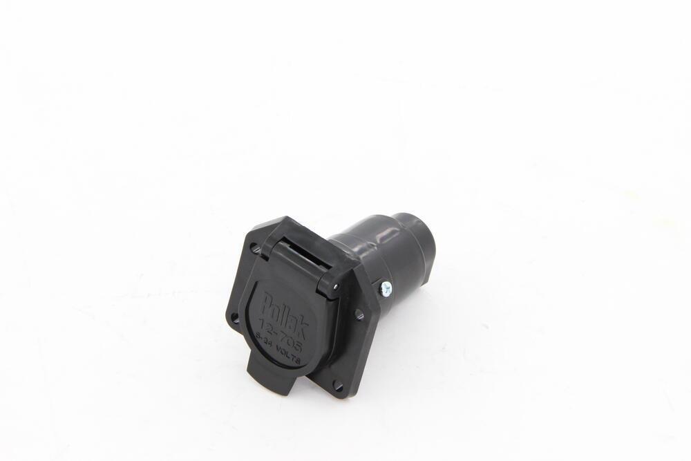 Pollak Black Plastic  7