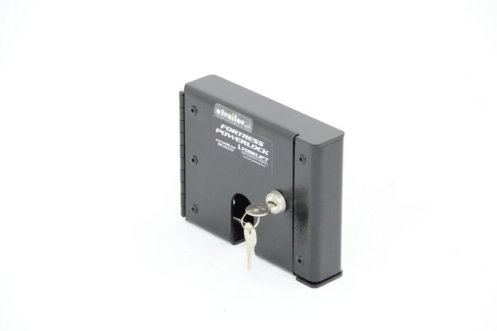 Trailer Access Door : Torklift fortress powerlock for rv shore power cord access