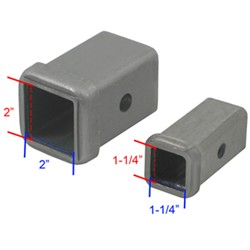 Trailer Hitch Receiver Sizes | etrailer.com