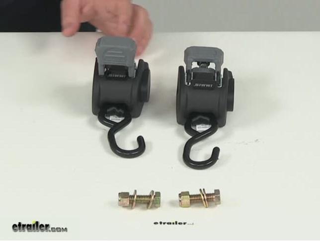 Boatbuckle Mini G2 Retractable Ratcheting Transom Tie