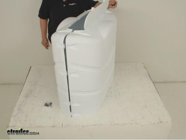 Camco Rv Polyethylene Propane Tank Cover For 2 20 Lb Or
