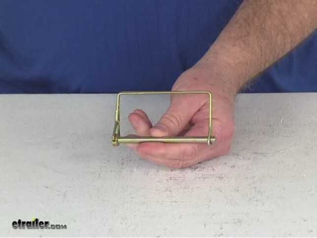 Coupler Safety Pin 1 4 : Trailer coupler safety lock pin quot husky hitch