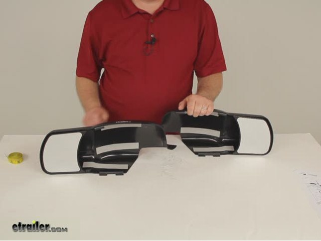 K Source Custom Towing Mirrors Snap On Chevy Gmc K