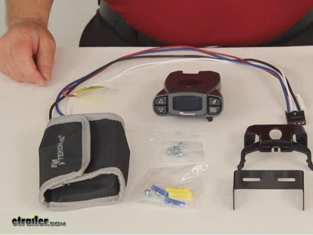 Tekonsha P3 >> Tekonsha Prodigy P3 Trailer Brake Controller - 1 to 4