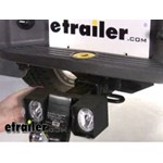Bully Ball Mount Hitch Backup Light Demonstration