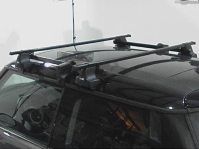 Thule Short Roof Adapter Kit For Traverse Roof Rack Feet