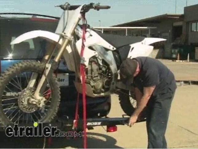 Boss Motorcycle Carrier Review Video | etrailer.com