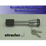 C.T. Johnson Deadbolt Lock for 2 Inch Hitches Review