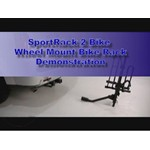 SportRack 2 Hitch Bike Wheel Mount Rack Review