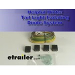 Tail Light Isolating Diode System Demonstration