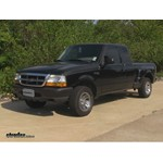 Trailer Hitch Installation - 1998 Ford Ranger