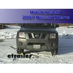 Trailer Hitch Installation - 2007 Nissan Xterra