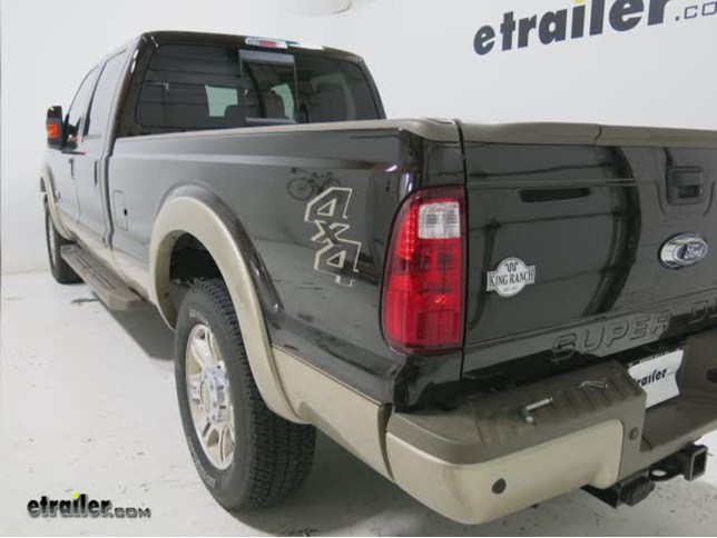 Install Bestop Trekstep Truck Bed Step Ford F B on Ford F 250 Bed Dimensions