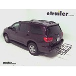 Curt Hitch Cargo Carrier Review - 2012 Toyota Sequoia