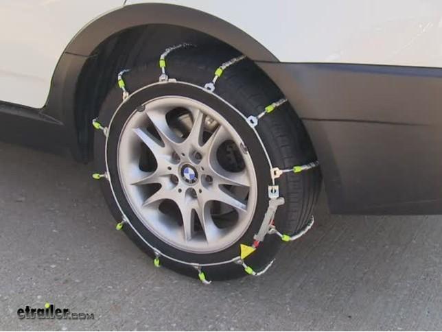 glacier cable snow tire chains  pair glacier tire chains pwc
