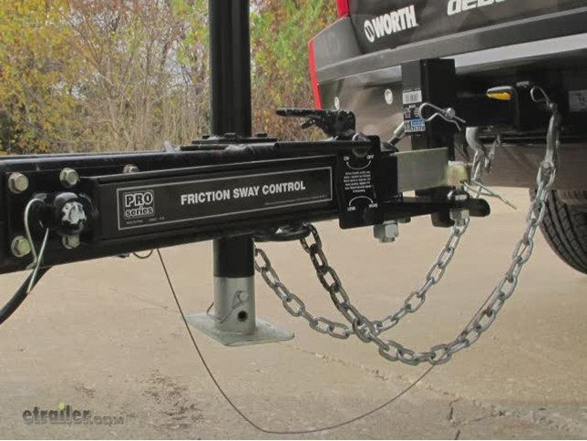 Pro Series Friction Sway Control Kit - Economy - by Draw ...