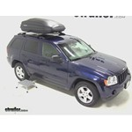 SportRack Aero Roof Cargo Box Installation - 2005 Jeep Grand Cherokee
