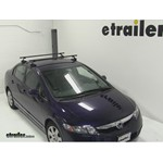 SportRack Frontier Roof Rack Installation - 2011 Honda Civic