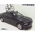 SportRack Nomad Roof Bike Rack Review - 2012 Dodge Charger