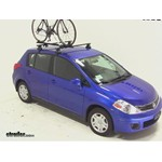 SportRack Nomad Roof Bike Rack Review - 2012 Nissan Versa