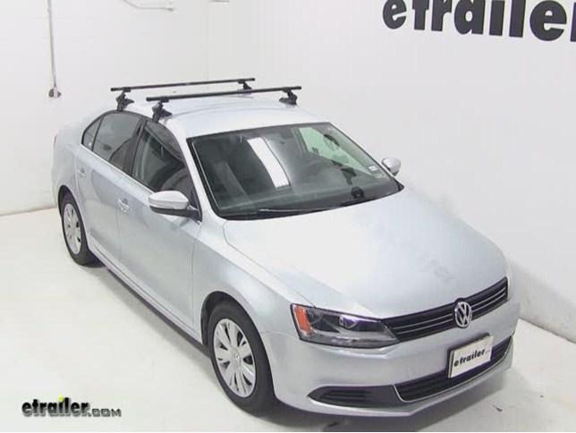 Roof Rack For 2013 Volkswagen Jetta Etrailer Com