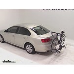 Swagman XTC2 Wheel Mount Hitch Bike Rack Review - 2012 Volkswagen Jetta