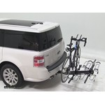 Swagman XTC4 Wheel Mount Hitch Bike Rack Review - 2010 Ford Flex