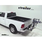 Thule Apex 4 Swing Hitch Bike Rack Review - 2012 Dodge Ram