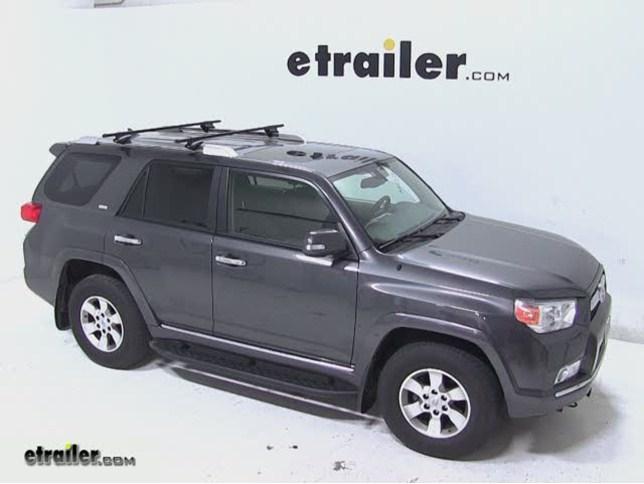 Thule Roof Rack For Toyota Sequoia 2011 Etrailer Com