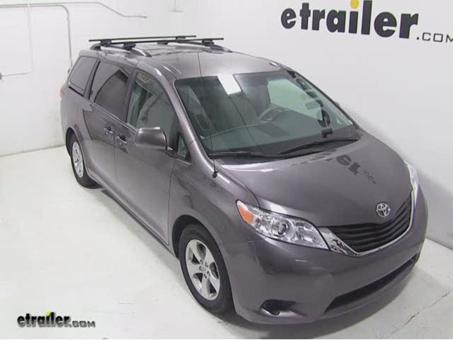 Thule Roof Rack For Toyota Sienna 2014 Etrailer Com