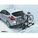 Thule Doubletrack Hitch Bike Rack Review - 2012 Ford Focus