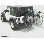 Thule Helium Hitch Bike Rack Review - 2012 Jeep Wrangler