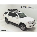 Thule MOAB Roof Top Cargo Basket Review - 2007 Toyota 4Runner