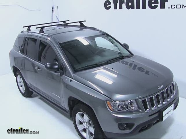 Thule Roof Rack For 2012 Compass By Jeep Etrailer Com