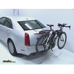 Thule Raceway Trunk Bike Rack Review - 2011 Cadillac CTS