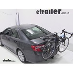 Thule Raceway Trunk Bike Rack Review - 2012 Toyota Camry