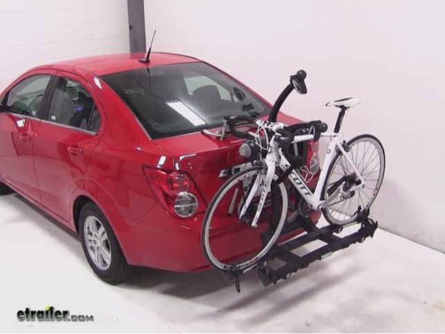 thule trunk bike rack instructions