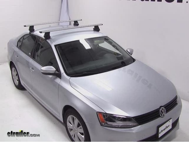 Thule Roof Rack For 2012 Jetta By Volkswagen Etrailer Com