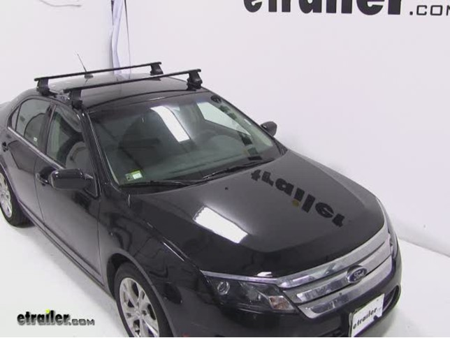 Thule Roof Rack For 2013 Ford Fusion Etrailer Com