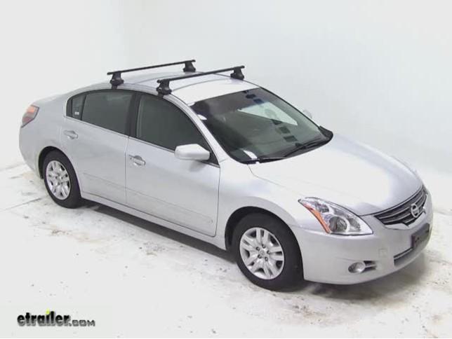 Thule Roof Rack For 2012 Juke By Nissan Etrailer Com