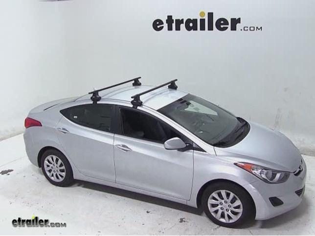 Thule Roof Rack For 2013 Hyundai Veloster Etrailer Com