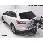 Thule Vertex 4 Hitch Bike Rack Review - 2010 Mazda CX-9