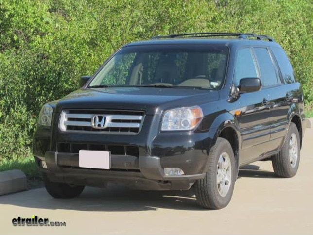 trailer hitch for 2008 honda pilot hidden hitch 87454. Black Bedroom Furniture Sets. Home Design Ideas