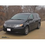 Trailer Hitch Installation - 2012 Honda Odyssey - Hidden Hitch
